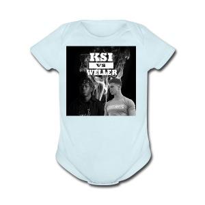KSI VS Weller - Short Sleeve Baby Bodysuit