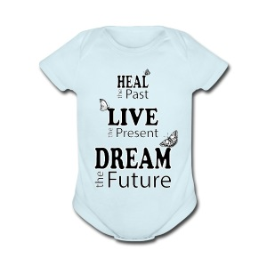 Heal the Past - Short Sleeve Baby Bodysuit