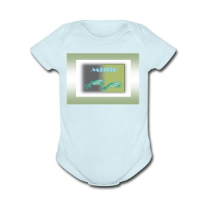 Publicac a o2verde - Short Sleeve Baby Bodysuit