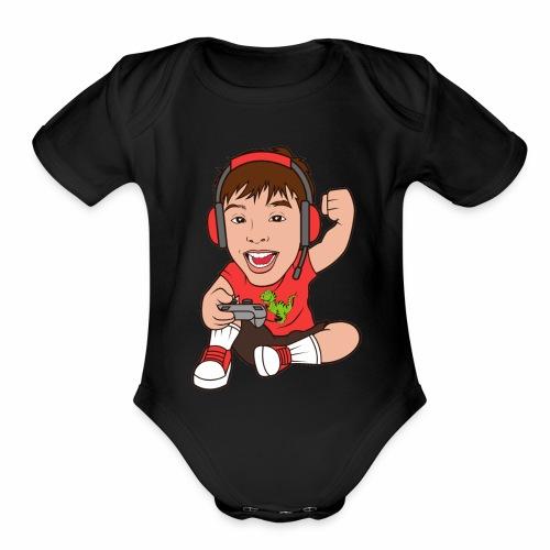 DMJ Gamer - Organic Short Sleeve Baby Bodysuit