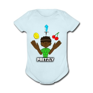 Pretzly Design - Short Sleeve Baby Bodysuit
