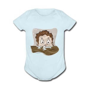 SleepyMug - Short Sleeve Baby Bodysuit