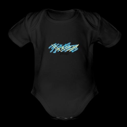 Vinn Chicago Design - Organic Short Sleeve Baby Bodysuit