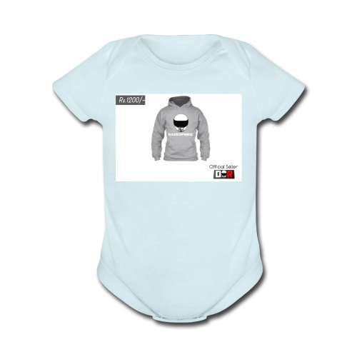 Winter Hoodie by DoseOfRide | Rs.1200/- - Organic Short Sleeve Baby Bodysuit