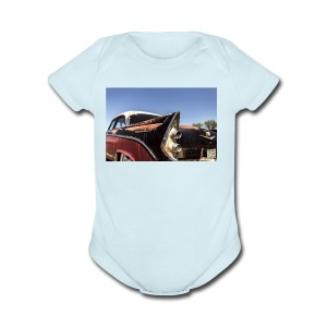 Hot rod - Short Sleeve Baby Bodysuit