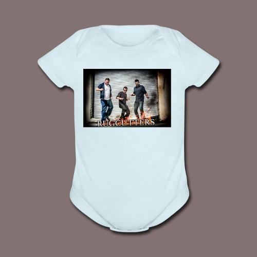 RUGCUTTERS Fan Shirts - Organic Short Sleeve Baby Bodysuit