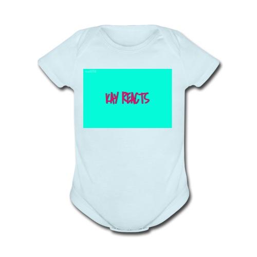KAY REACTS - Organic Short Sleeve Baby Bodysuit