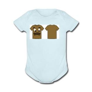 Randy final2 - Short Sleeve Baby Bodysuit