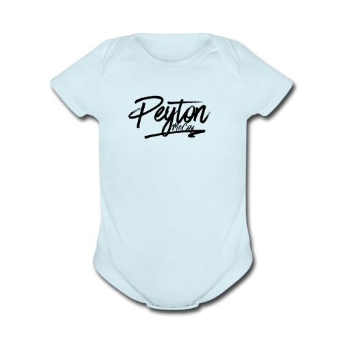 Peyton McCoy Launch - Organic Short Sleeve Baby Bodysuit