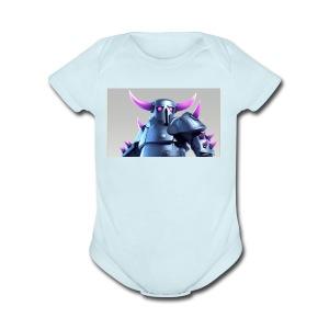Destroyer Clash of Clans - Short Sleeve Baby Bodysuit