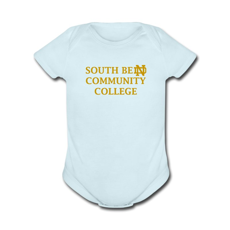 Notre Dame Community College - Short Sleeve Baby Bodysuit
