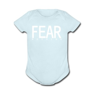 FEAR_NOTHING - Short Sleeve Baby Bodysuit