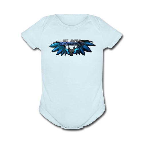 IsaacMewtwo - Organic Short Sleeve Baby Bodysuit