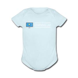 WP Learning Lab Logo - Short Sleeve Baby Bodysuit