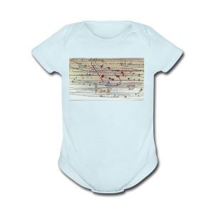 kiik 4 - Short Sleeve Baby Bodysuit