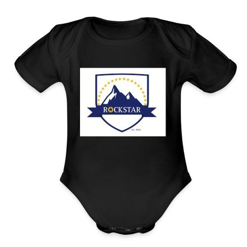 Rockstar_Brand - Organic Short Sleeve Baby Bodysuit