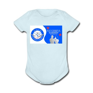 Official Successful Barber - Short Sleeve Baby Bodysuit