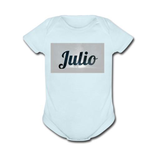 julio films - Organic Short Sleeve Baby Bodysuit