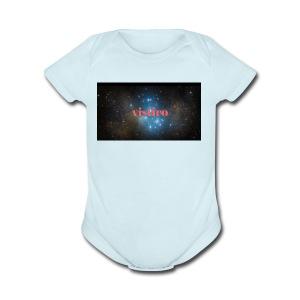 signed hoodie - Short Sleeve Baby Bodysuit