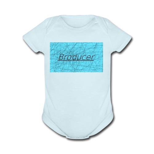 My Merchandise - Organic Short Sleeve Baby Bodysuit