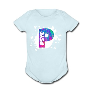 PSYC Channel Art Design - Short Sleeve Baby Bodysuit