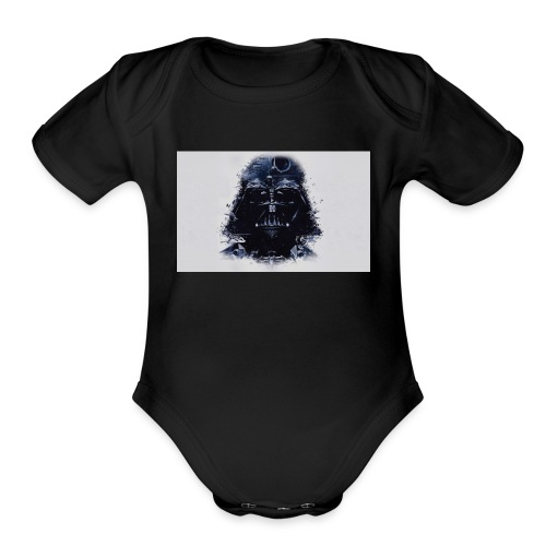 Darth Vader - Organic Short Sleeve Baby Bodysuit