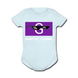 GhettoVlogs - Short Sleeve Baby Bodysuit