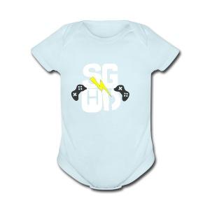 IMG_0350 - Short Sleeve Baby Bodysuit