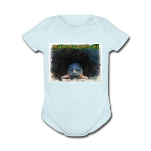 ANIMATED PICTURE - Short Sleeve Baby Bodysuit