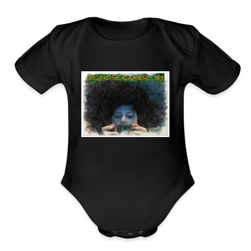ANIMATED PICTURE - Organic Short Sleeve Baby Bodysuit
