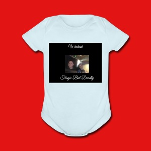 Tragic But Deadly album cover HOODIE EXCLUSIVE - Short Sleeve Baby Bodysuit