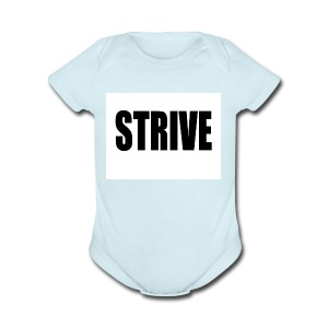 strive - Short Sleeve Baby Bodysuit