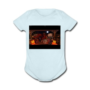 IMG 0392 - Short Sleeve Baby Bodysuit