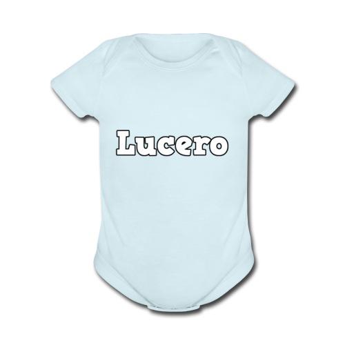 TINGGEREIRWNFØE - Organic Short Sleeve Baby Bodysuit