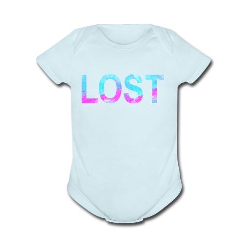 lost - Organic Short Sleeve Baby Bodysuit