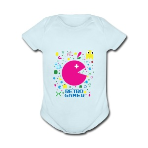 RETRO GAMER - Short Sleeve Baby Bodysuit