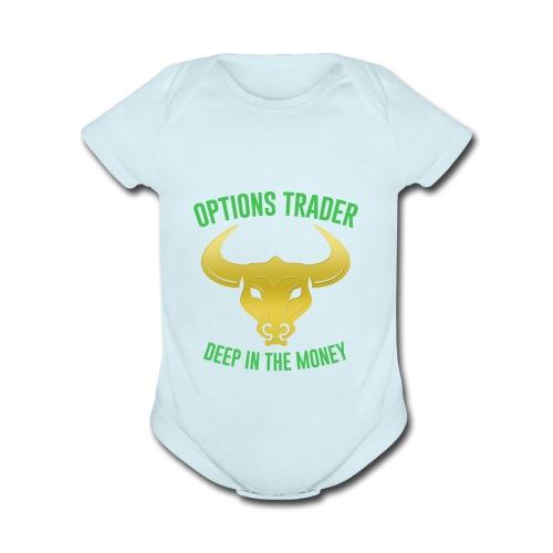 zaptraders - Organic Short Sleeve Baby Bodysuit