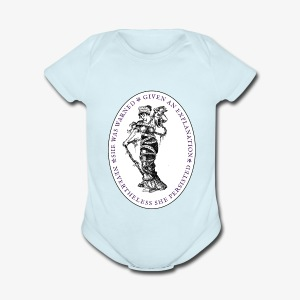 She Persisted Suffragette Premium - Short Sleeve Baby Bodysuit