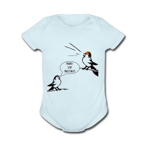 Donald Trump Tweeting T Shirt - Short Sleeve Baby Bodysuit