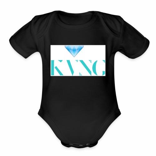 Kvng - Organic Short Sleeve Baby Bodysuit