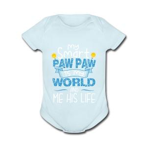 14 06PAWPAW - Short Sleeve Baby Bodysuit