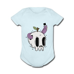 The Bourgeois Worm - Short Sleeve Baby Bodysuit