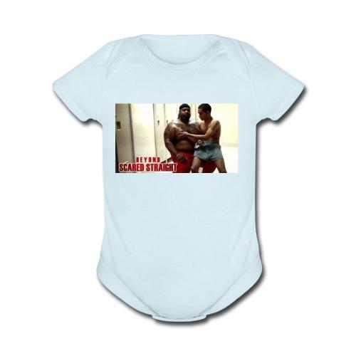 scared Straight - Organic Short Sleeve Baby Bodysuit
