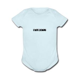Excite Designs - Short Sleeve Baby Bodysuit