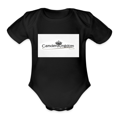 Camden Kingdom - Organic Short Sleeve Baby Bodysuit