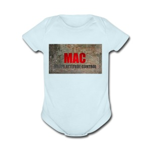 MAC LOGO - Short Sleeve Baby Bodysuit