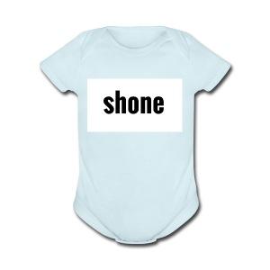 shone - Short Sleeve Baby Bodysuit