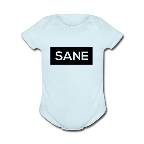 Sane Rectangle - Organic Short Sleeve Baby Bodysuit