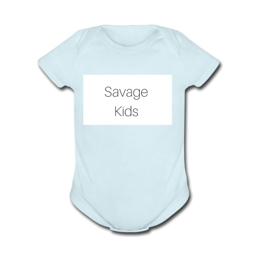 Savage Kids - Organic Short Sleeve Baby Bodysuit