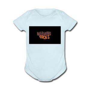 NgamingRocks LoGo - Short Sleeve Baby Bodysuit